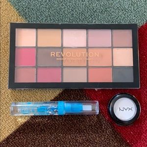 Eye makeup bundle: Makeup Revolution/NYX/Essence